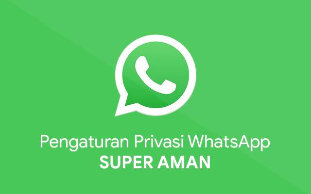 Mengamankan Akun WhatsApp