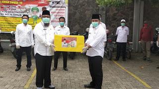 TEC Sumbangkan APD Untuk Tenaga Medis Se-Lampung