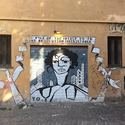 Street Art Vicolo Della Frusta