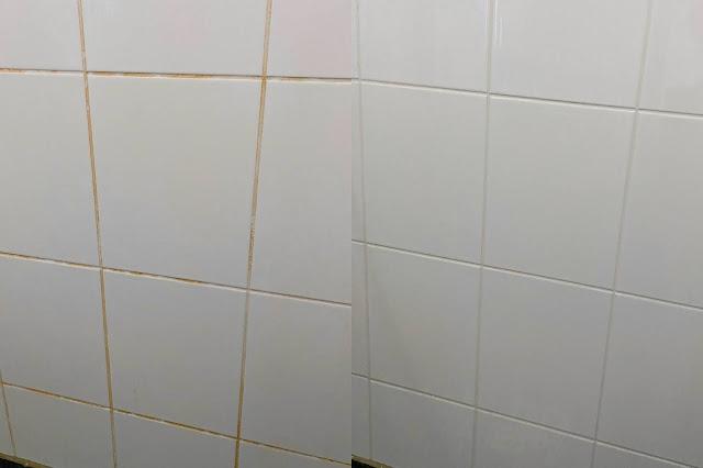 Voegen reinigen Badkamer