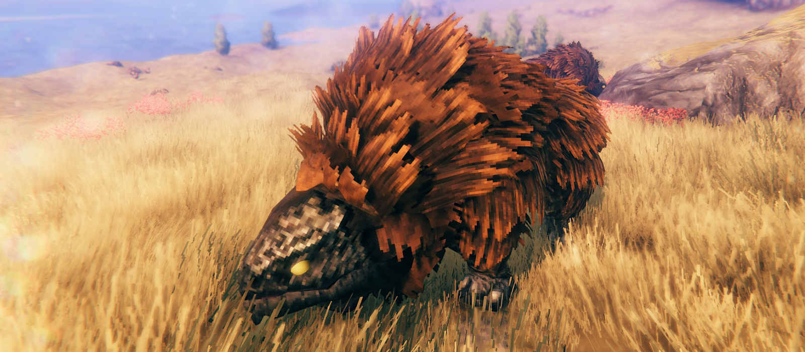 How to tame a bull lizard in Valheim. How to build a blast furnace and where to find ferrous metal