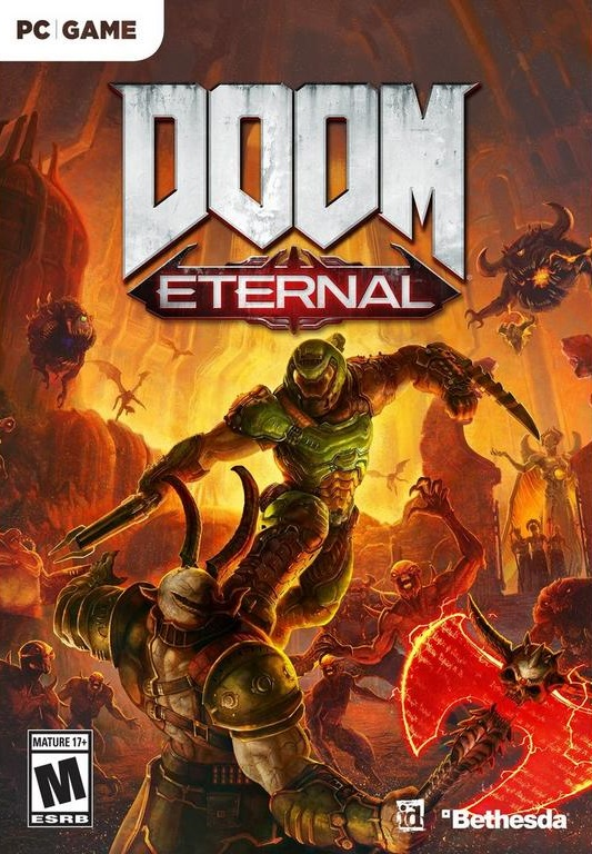 Descargar DOOM Eternal PC Cover Caratula-www.juegosparawindows.com