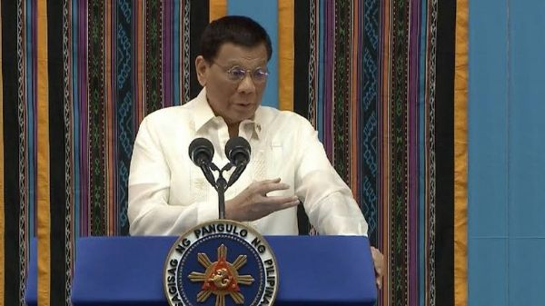 President Rodrigo Duterte is on 'lecture-mode' in his speech as a father to the nation.
