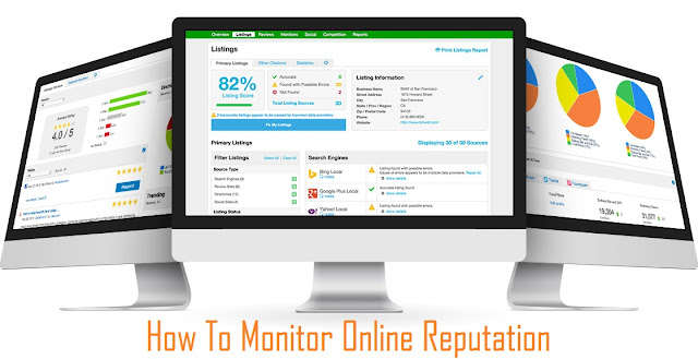 How To Monitor Your Online Reputation [Infographic]