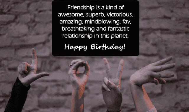 close friend birthday images