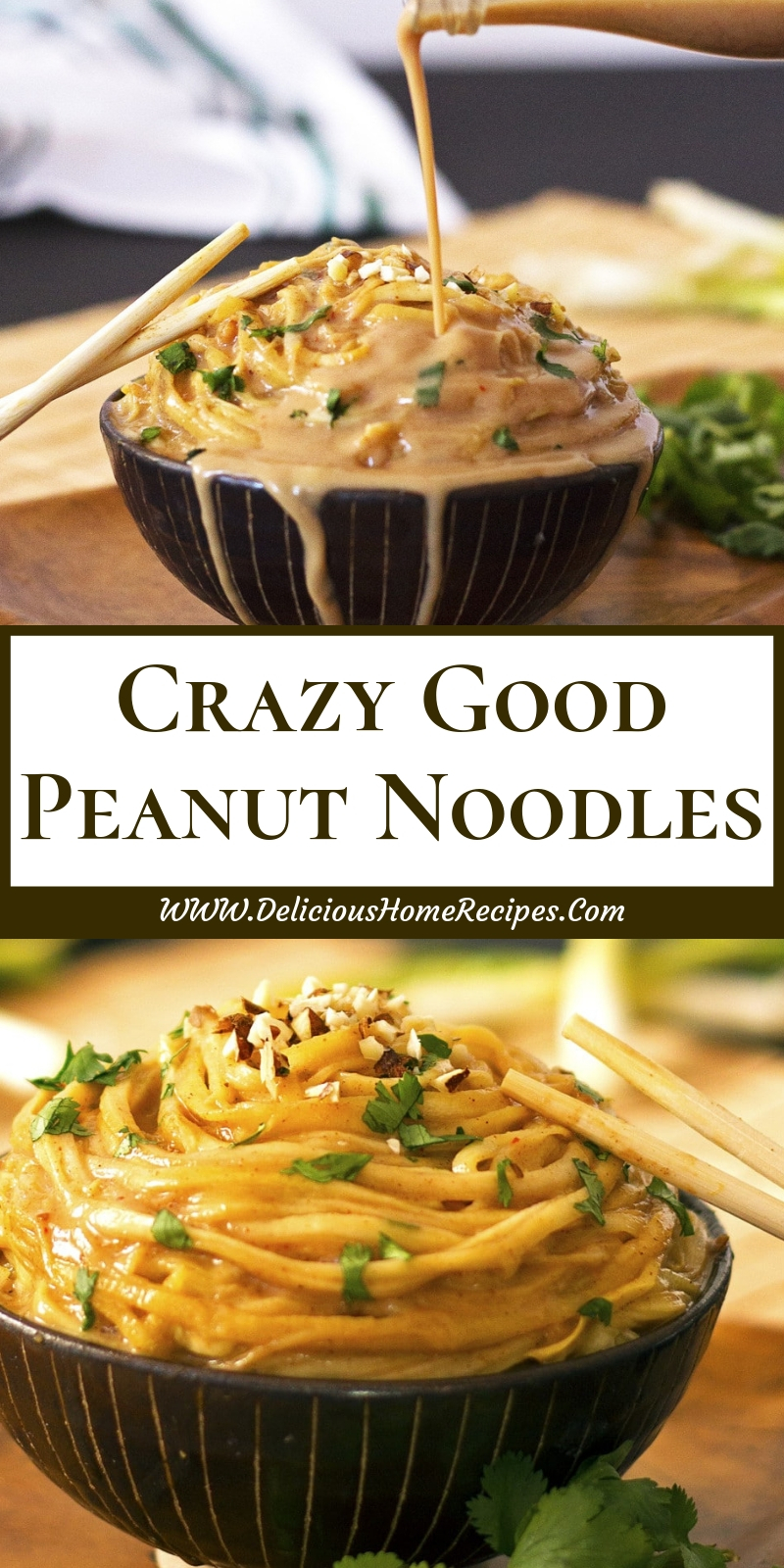 Crazy Good Peanut Noodles