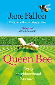 The cover of novel Queen Bee by Jane Fallon, reviewed by UK blog Is This Mutton