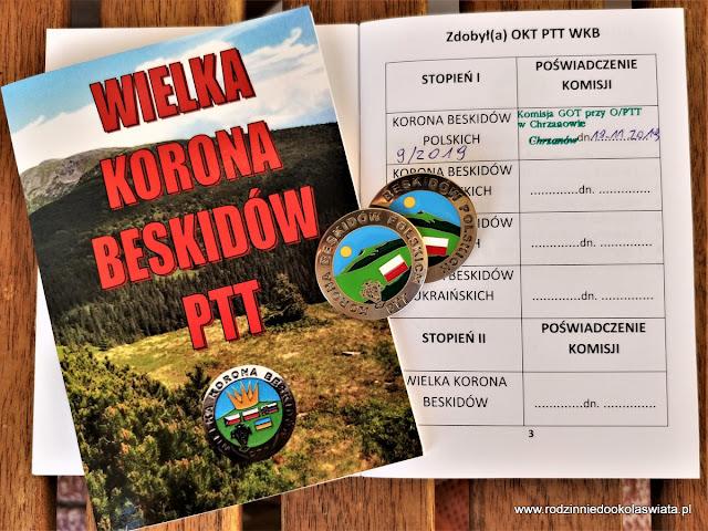 Korona Beskidów Polskich z dziećmi