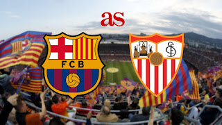 ماتش برشلونة إشبيلية بث مباشر