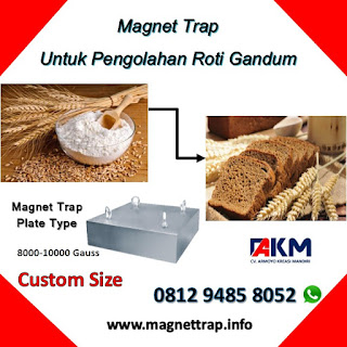 magnet trap type plate