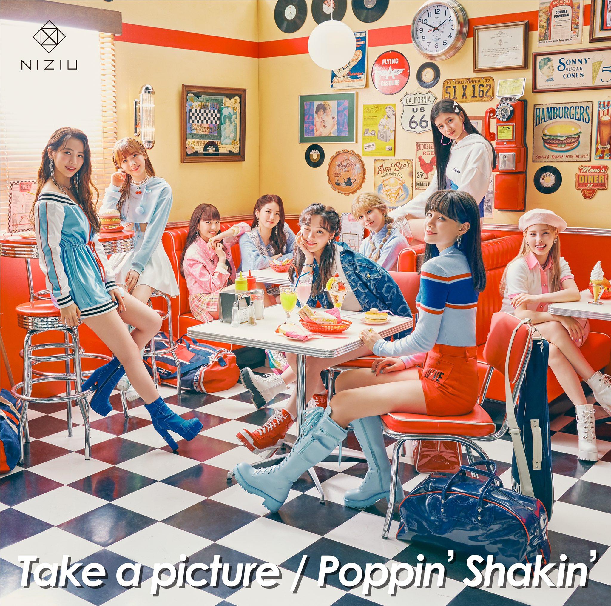 NiziU - Poppin 'Shakin' [2021.02.20+MP3+RAR]