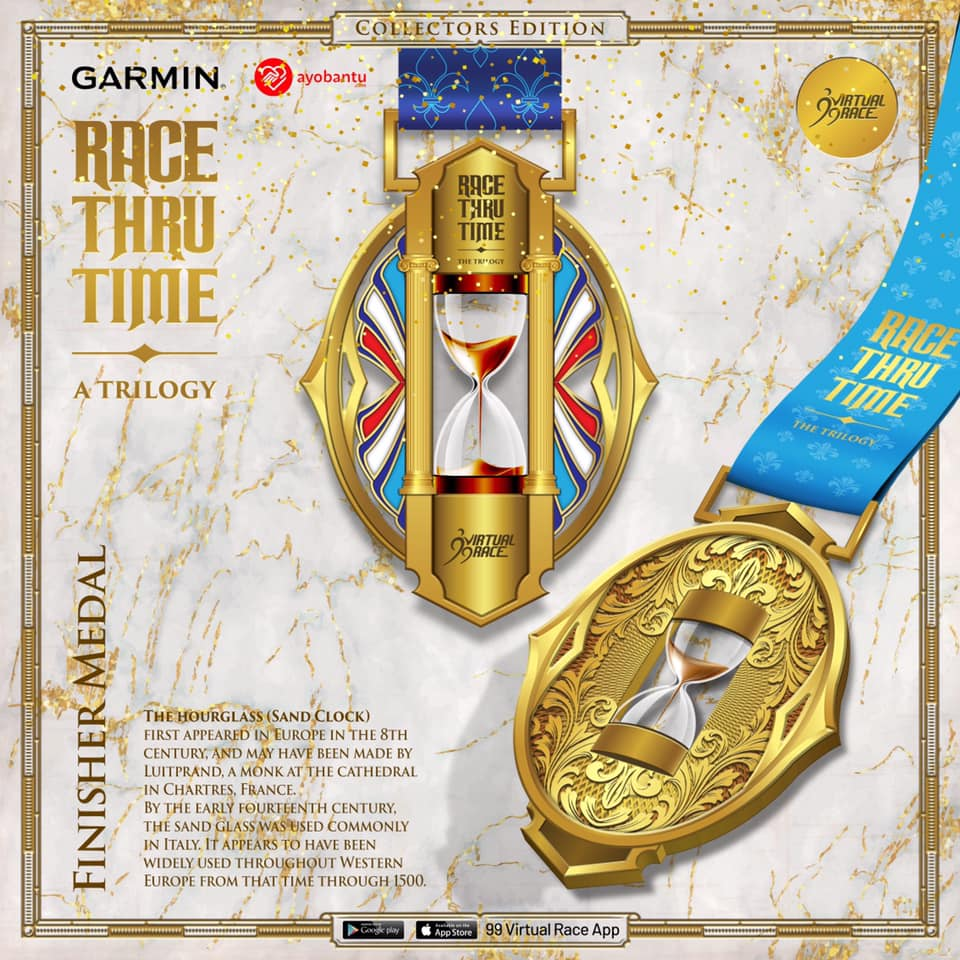 Medal � Race Thru Time - A Trilogy ! Seri I: Speed - The Hourglass • 2021
