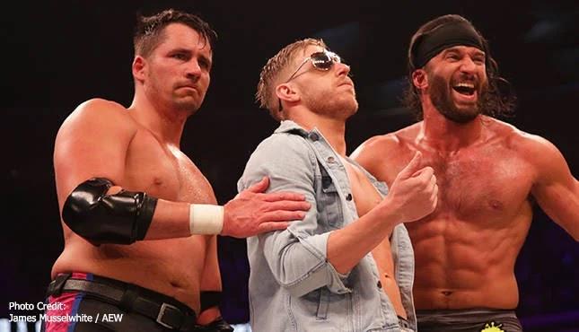 Estrelas da AEW fizeram quatro lutas em um único dia durante gravações do Dynamite