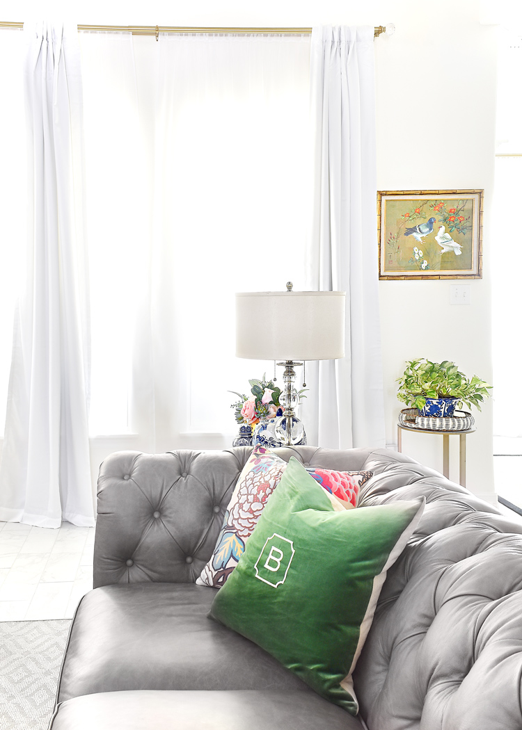 JCPenney Kathryn Pinch Pleat Curtains in White