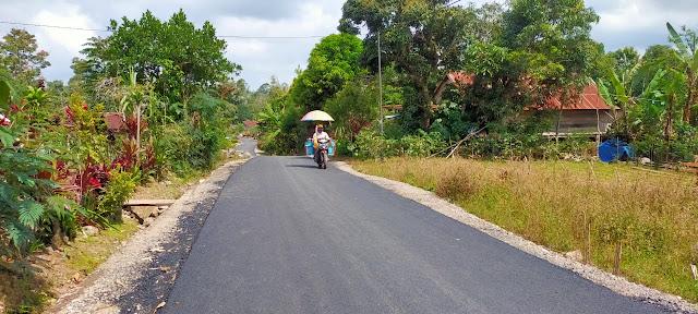 Penantian Puluhan Tahun Warga Desa Batu Belerang Untuk Nikmati Jalan Mulus Akhirnya Terjawab