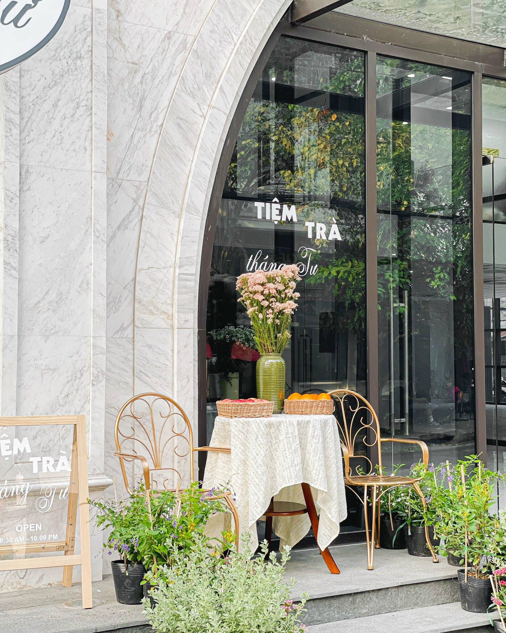 Tiệm Trà Tháng Tư - Tiệm trà của thanh xuân