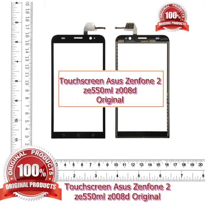 Touchscreen layar sentuh Asus Zenfone 2 ze550ml z008d hitam asli