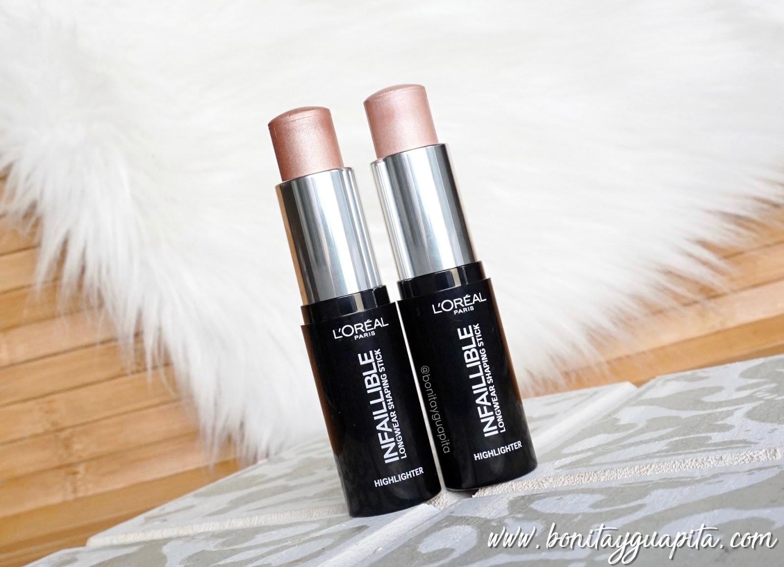 Infalible Stick de L'Oréal iluminadores