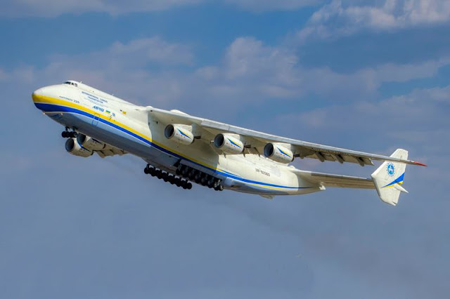 Antonov AN-225 coronavirus air bridge