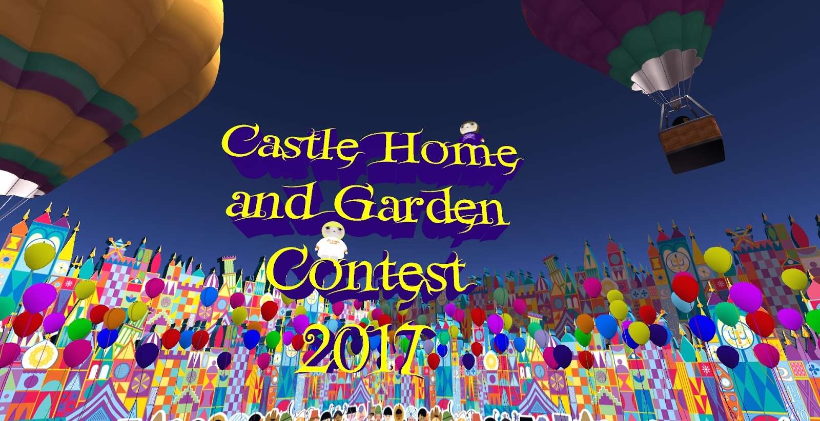 Second life newser castle and home and garden contest opens Home and garden contest