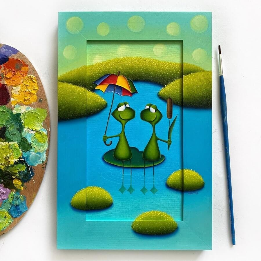 05-Frogs-in-a-Pond-Gabriela-Elgaafary-www-designstack-co