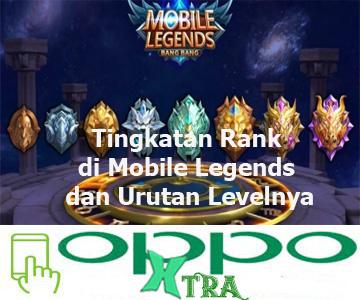 Tingkatan Rank di Mobile Legends dan Urutan Levelnya