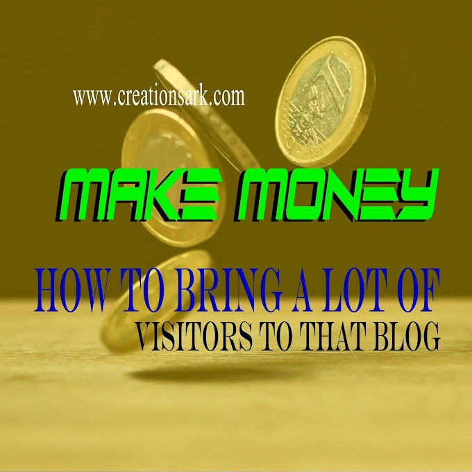 how to bring a lot of visitors to that blog | make money from blogs