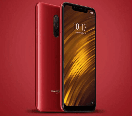Xiaomi Pocophone F1 Rosso Red is now Available