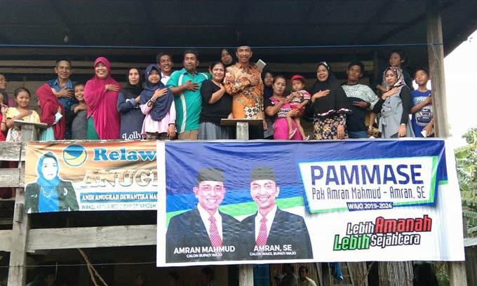 Sejumlah Pendukung Anugrah Nyatakan Sikap Gabung ke PAMMASE