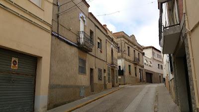 Els Hostalets de Pierola. El barri rere l'església