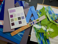 Color booklets from the paint store are a great resource for color ideas