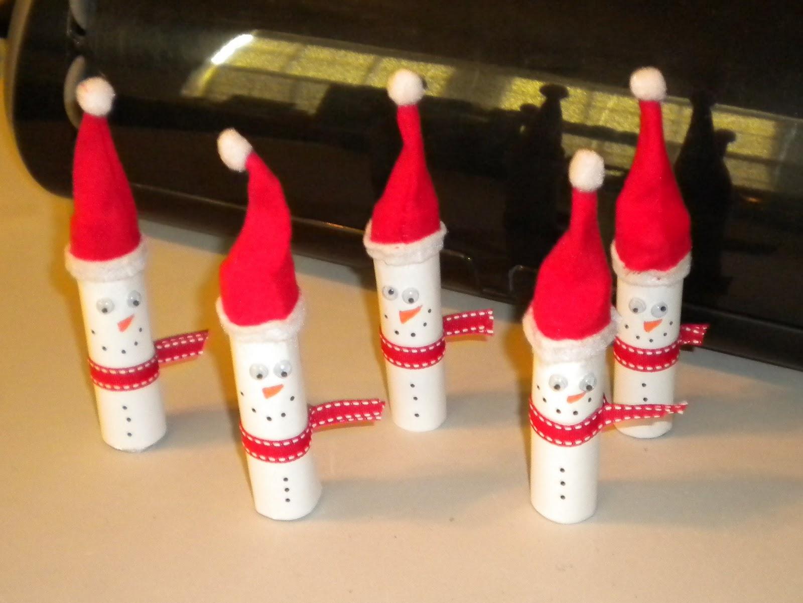 Jean's Crafty Corner: Snowmen LifeSavers