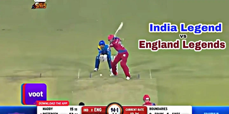 Road safety world series, india Legends vs England Legends