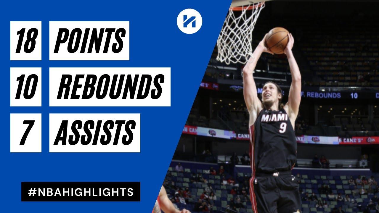 Kelly Olynyk 18pts 10reb 7ast vs NOP   March 4, 2021   2020-21 NBA Season