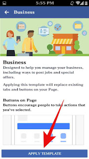 Fb page template kese change kare 5