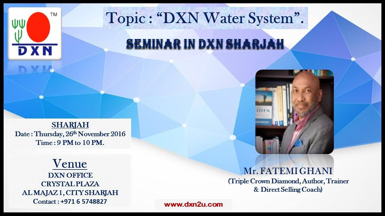 Smart Business. DXN Business