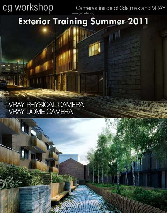cgworkshop exterior architectural visualization lectures