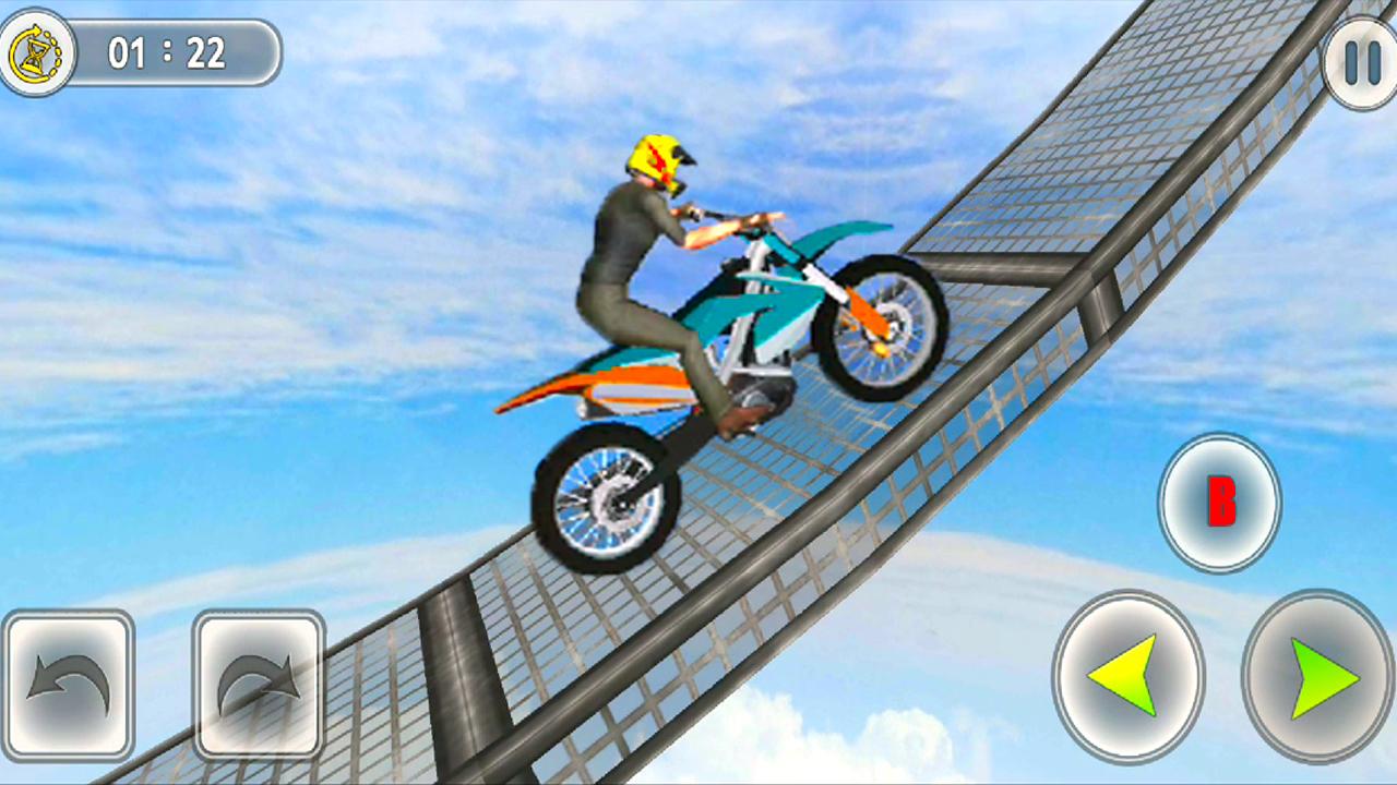 Bike Tricky Stunt Racing Game Apk Download Bike Wala Game