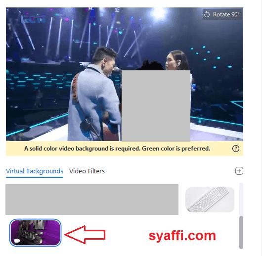 Cara Mengganti Background ZOOM di Laptop