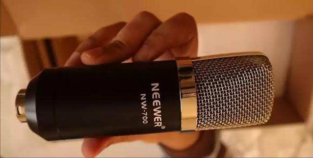 مراجعة ميكروفون Neewer NW-700