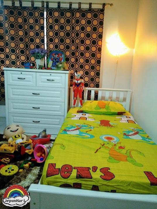 Deko : Makeover bilik tidur anak