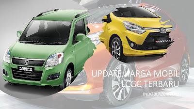 Harga terbaru mobil LCGC pertengahan tahun 2021. Agya, Ayla,Karimun dan Brio.