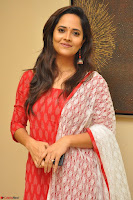 Anusuya in Red at Kalamandir Foundation 7th anniversary Celebrations ~  Actress Galleries 035.JPG