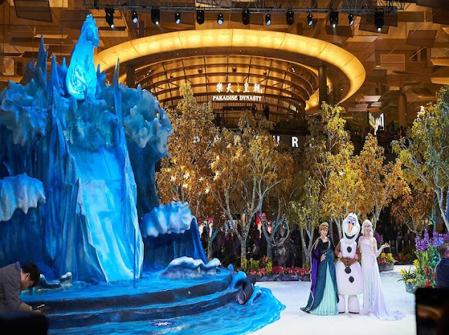tour singapore vietravel 2019 - Frozen