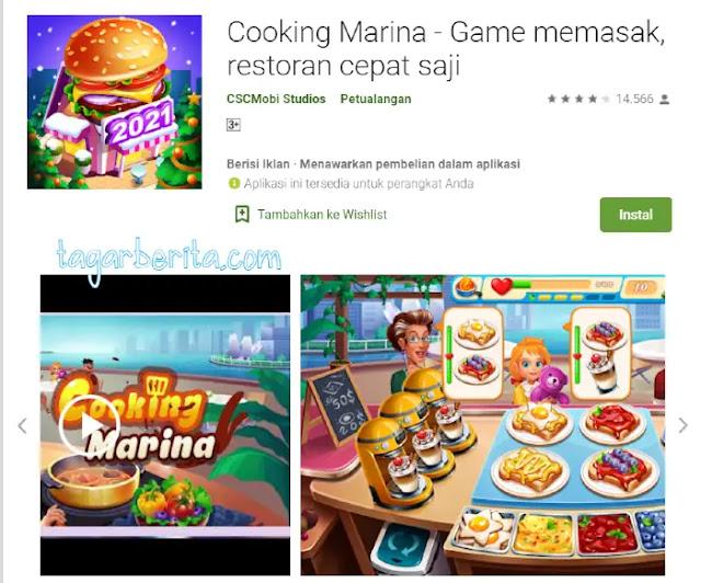 Game Memasak - Cooking Marina