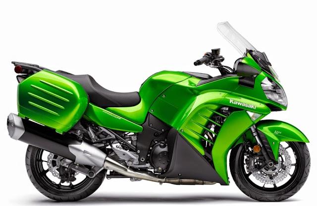 Kawasaki 1400 GTR Concours 2015