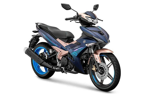 Warna Baru Yamaha MX King 150 Doxou Version