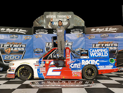 Creed Survives Late Darlington Dust-Ups To Win Camping World Truck Series Race
