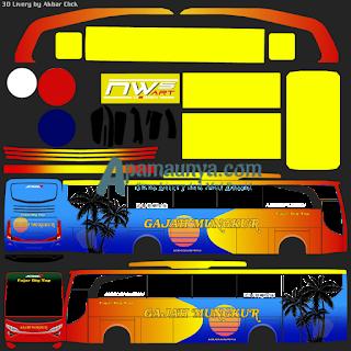 Livery bus jbhd 2 gajah mungkur