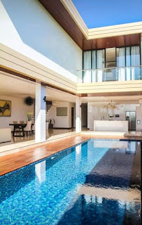 Minimalist 4BR Villa rent Canggu Yearly